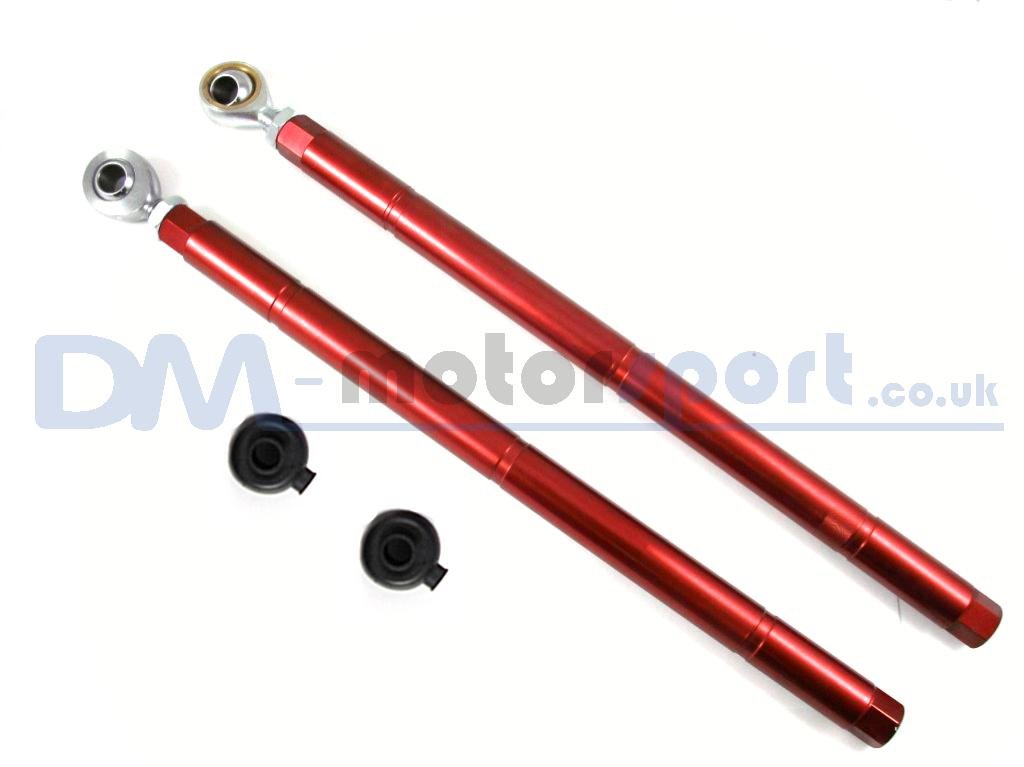 Rx7 Fd3s Red Adjustable Rear Toe Control Lower Arm Pair